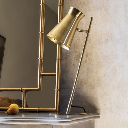 Tyrell Brass Table Lamp