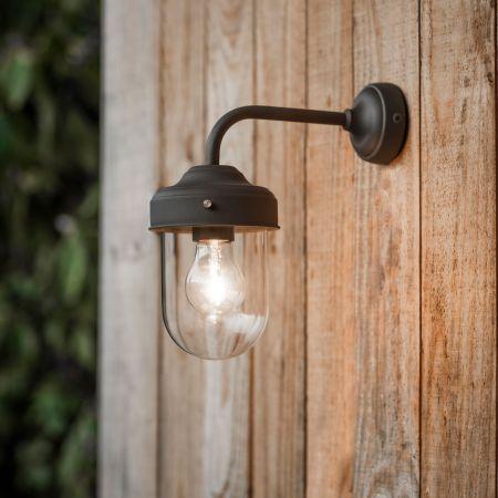 Coffee Bean Barn Lamp