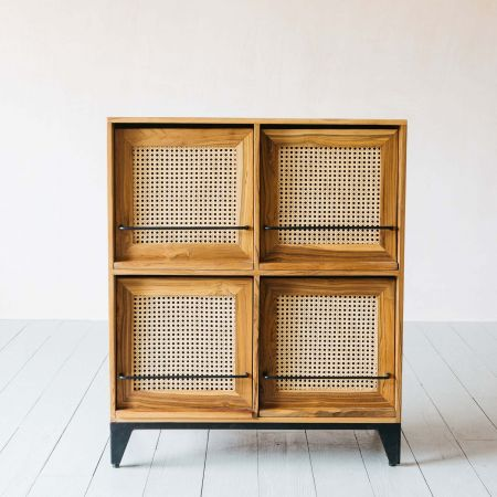 Malay Four Door Cabinet