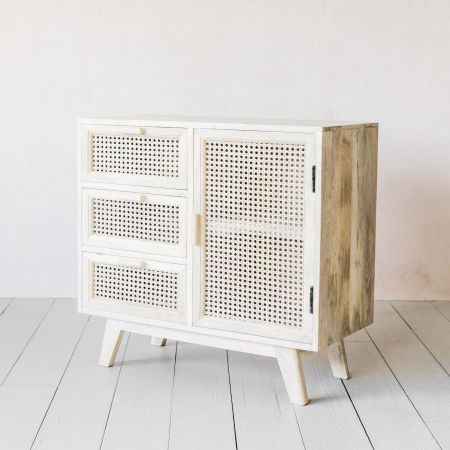 Esben Three Drawer One Door Sideboard