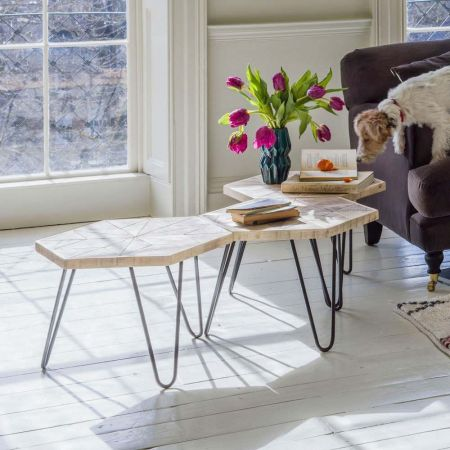Harris Hexagon Table