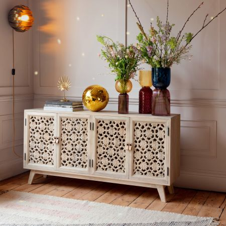 Momoka Carved Sideboard