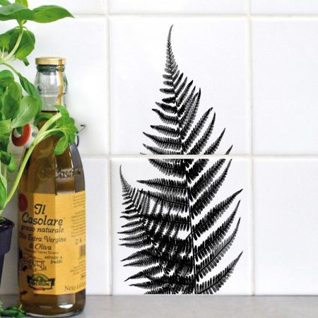 Fern Tile Stickers