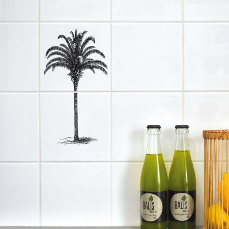 Palm Tree Tile Stickers
