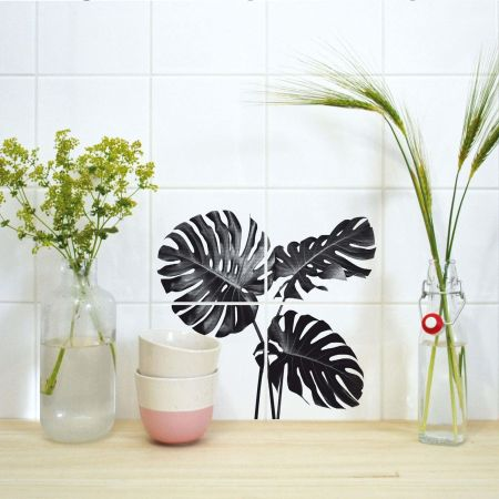 Monstera Tile Stickers