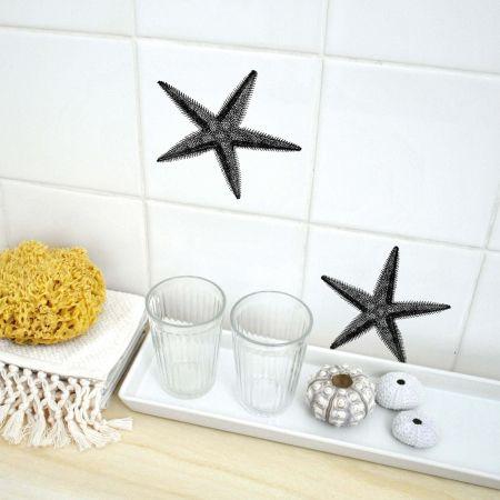 Starfish Tile Stickers