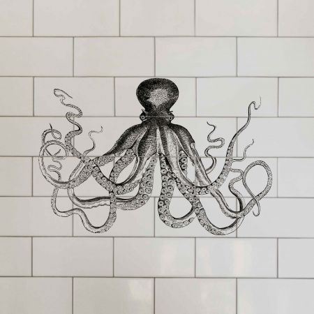 Octopus Tile Stickers