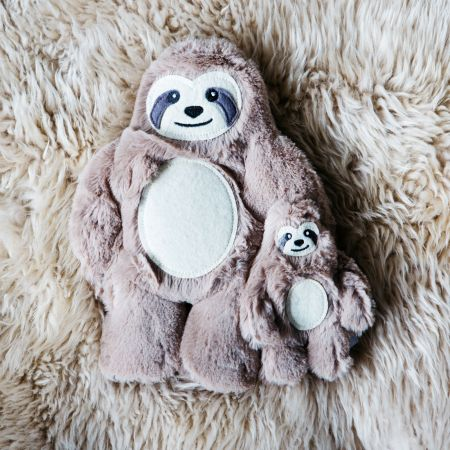 Microwavable Sloth Warmers