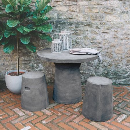 Outdoor Fibre Clay Table