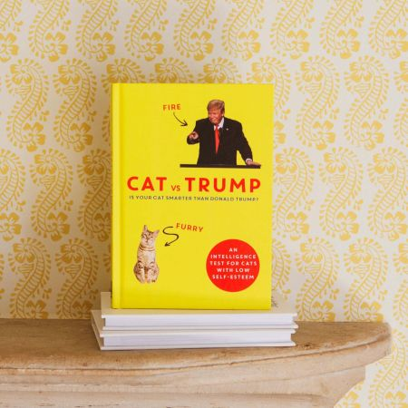 Cat Vs Trump Book