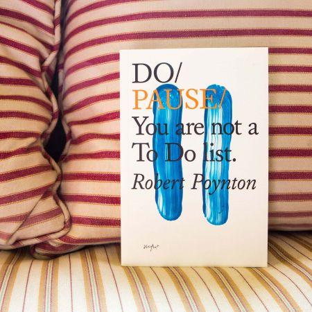 Do / Pause Book