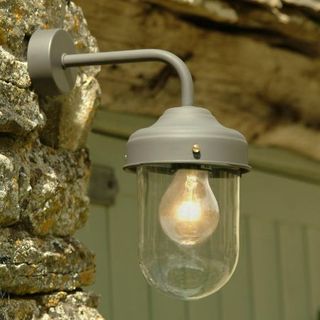 Coffee Bean Barn Lamp
