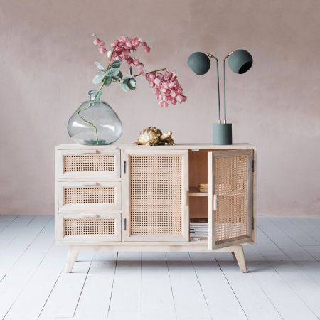 Esben Three Drawer Sideboard