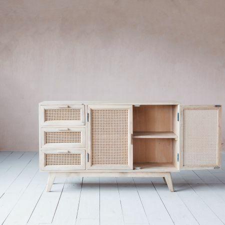 Esben Three Drawer Two Door Sideboard