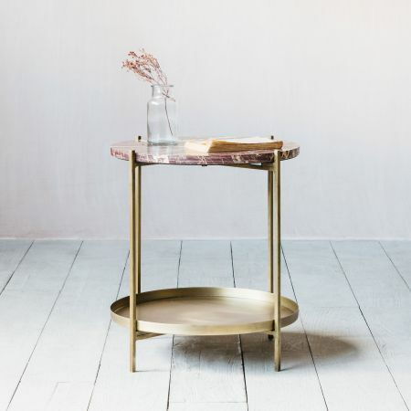 Maeve Marble Side Table