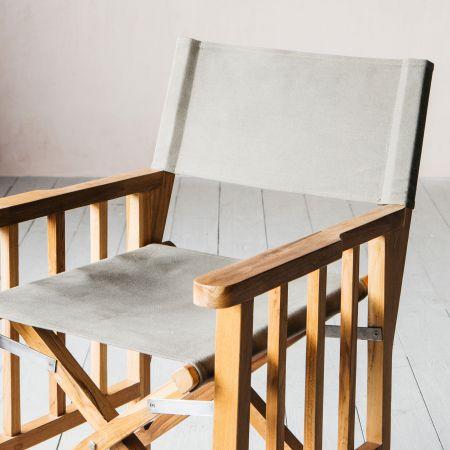 Green Canvas Chair