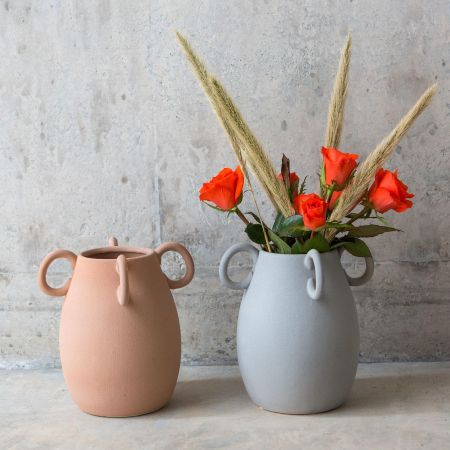 Medium Vases with Handles
