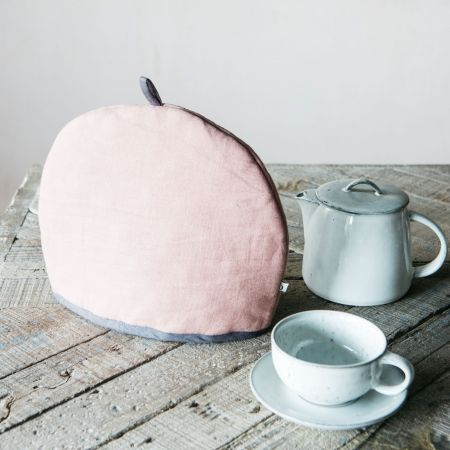 Pink Cotton Tea Cosy