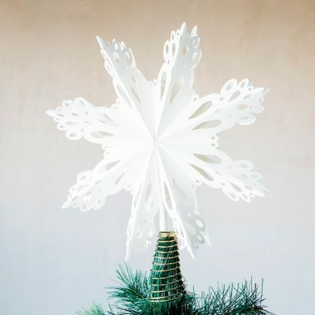 Paper Star Christmas Tree Topper