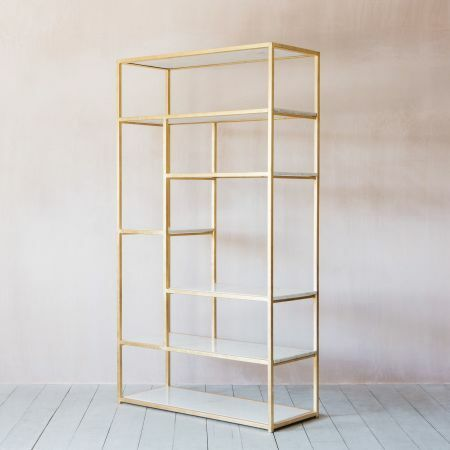 Diego Marble Shelving Unit