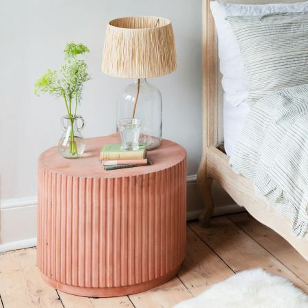 Short Fibreclay Side Table
