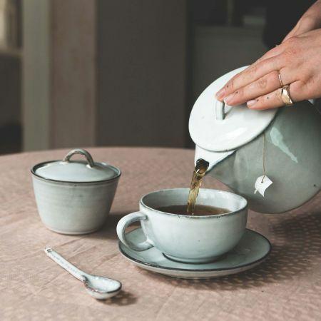 Agna Cup with Saucer