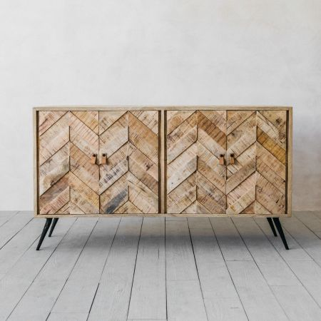 Amaliah Large Chevron Sideboard