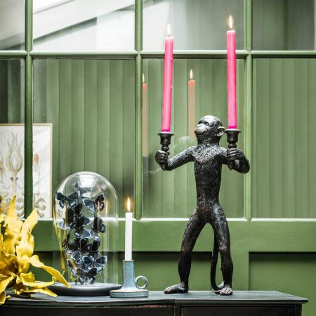 Miles Monkey Candle Holder