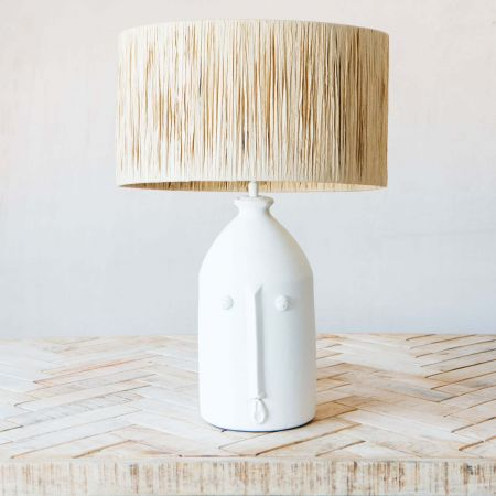 Alfeo Off-White Table Lamp