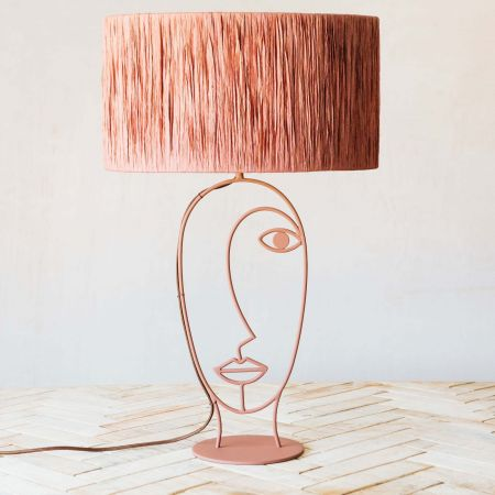 Adelina Brown Table Lamp