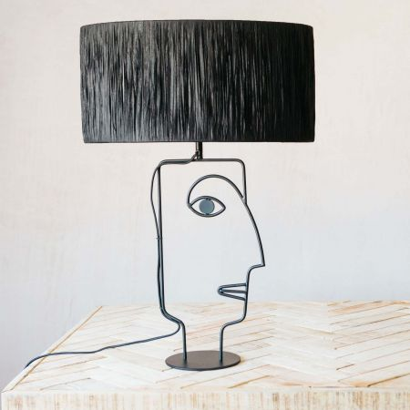 Adelina Black Table Lamp