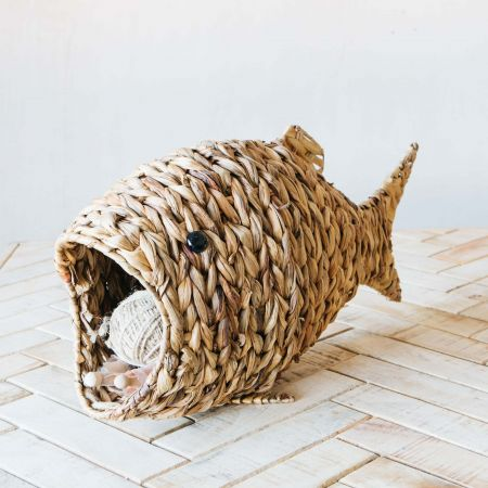 Rattan Fish Basket