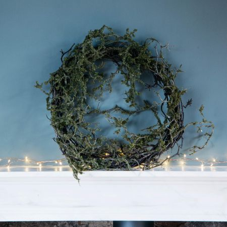 Twig and Moss Wreath