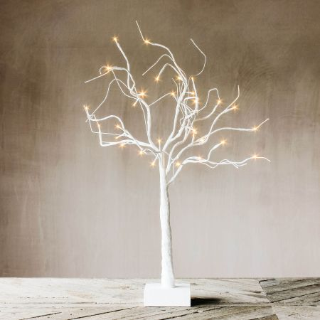 Curly Willow LED Tree