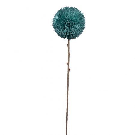 Faux Blue Burst Flower