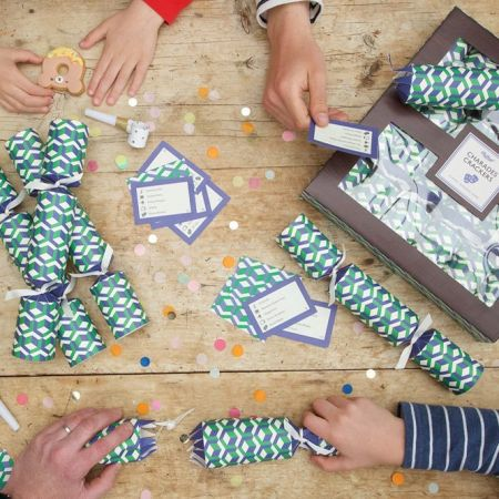 Set of Six Charades Crackers