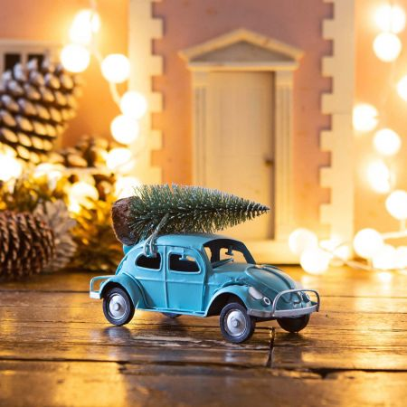 Beetle with Christmas Tree