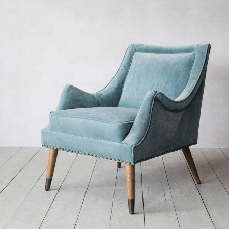 Hanson Velvet Chair