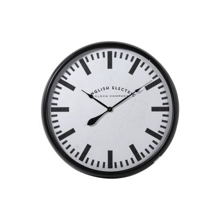 Black English Electric Clock
