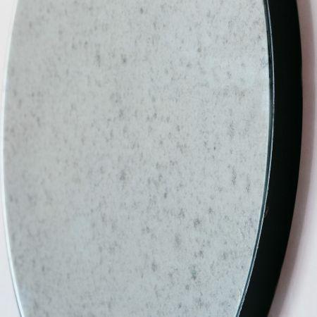 Medium Antiqued Round Mirror