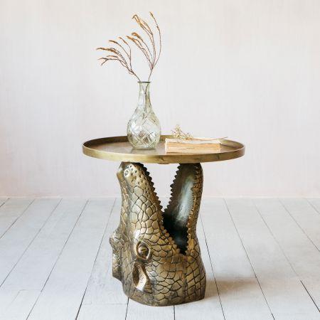 Crocodile Side Table