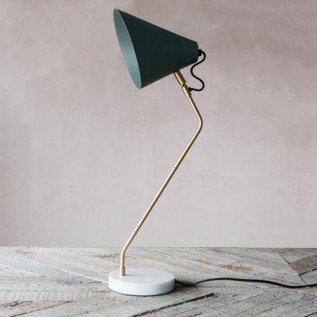 Colton Lichen Green Lamp