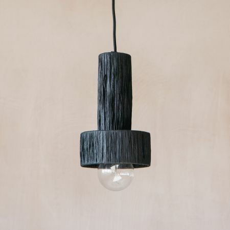 Raffy Black Pendant Light