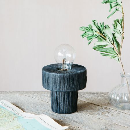 Raffy Black Table Lamp