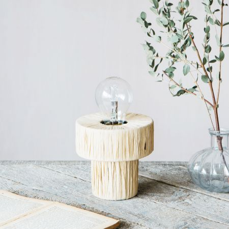 Raffy Natural Table Lamp
