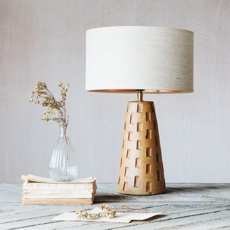 Duchamp Terracotta Lamp
