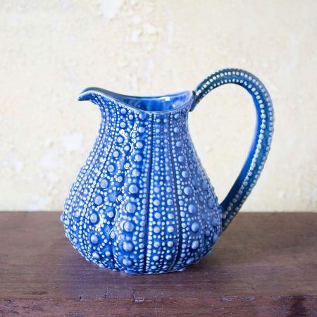 Blue Urchin Jug