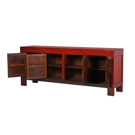 Lingbao Red Sideboard