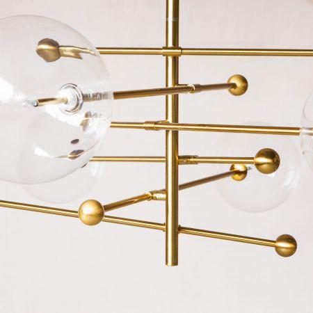 Aster Glass Ball Pendant