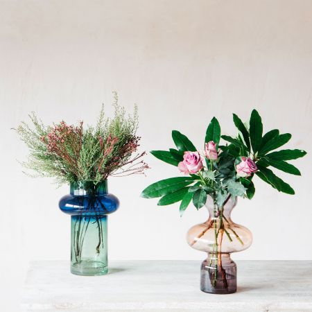 Ombre Glass Vases